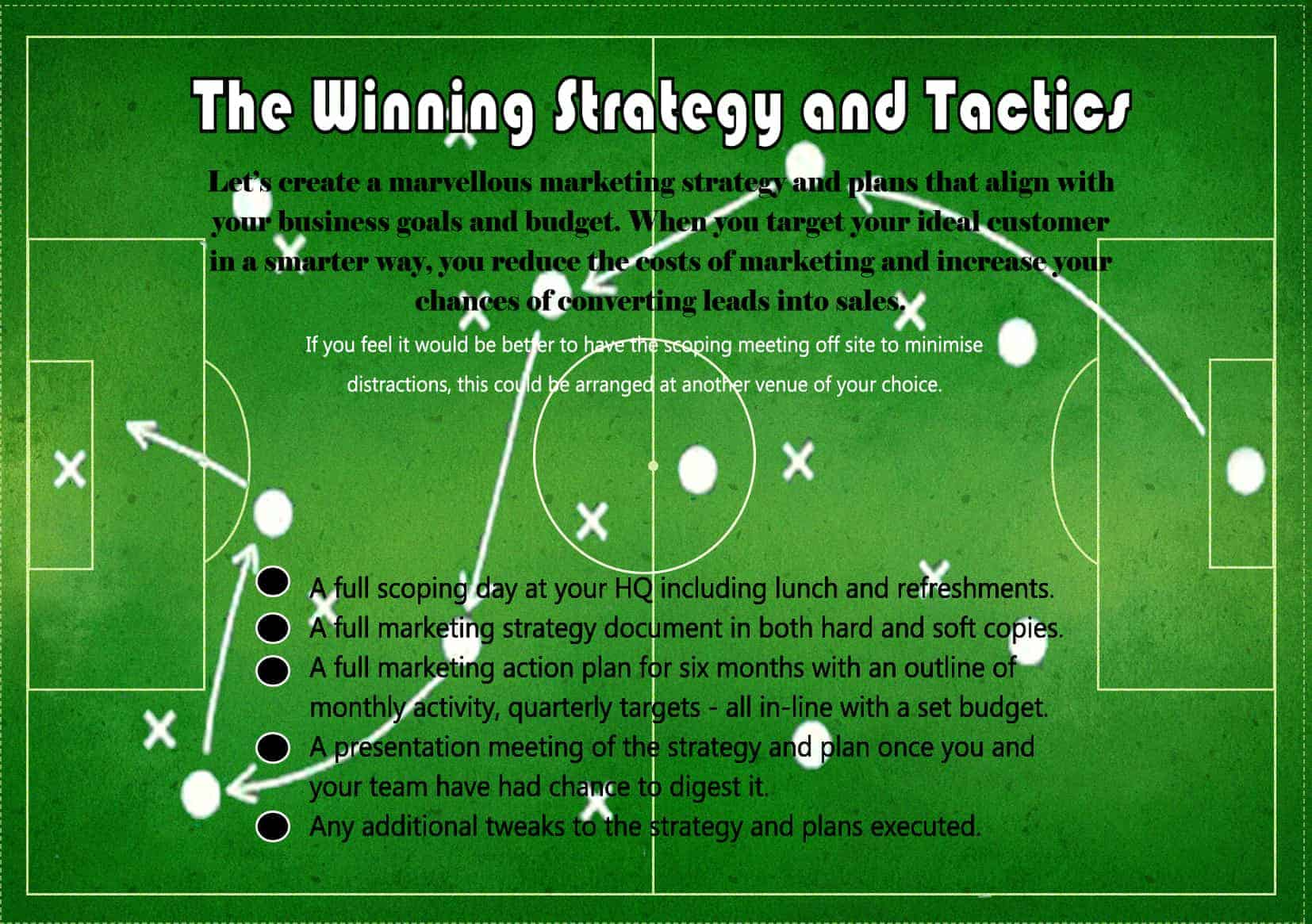 The Winning Strategy and Tactics