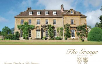 Branding, brochure design, content writing and venue photography - The Grange, Horsington