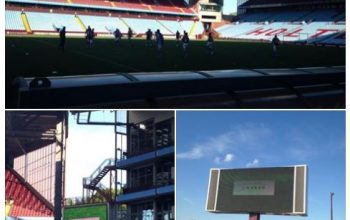 Charity football match at villa park